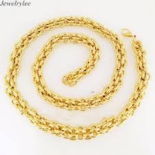 gold plated simple necklace images 14k 18k 24k gold plated simple gold chain necklace gold neck chain jpg