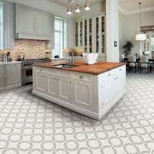 Kitchen Floor Ideas With White Cabinets Kitchen Floor Tile Snapstone Oyster Grey 12 In X 24 In Porcelain