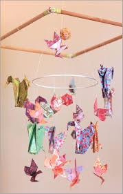 origami chambre bébé suspension chambre enfant 335664 mobile bebe bois suspension chambre