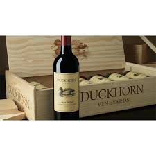 wine bottle gift box duckhorn 2014 cabernet sauvignon 6 bottle wood gift box brix26 wines