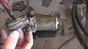 how to fix a ford power window motor for free youtube