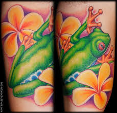 tree frog by brandon schultheis tattoonow