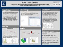 poster presentation template 36 x 48 poster presentation template