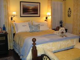 remember that yellow walled toile bedroom
