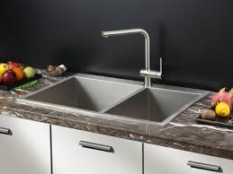Kitchen Sinks And Faucets by Ruvati Rvh8050 Drop In Overmount 16 Gauge 33
