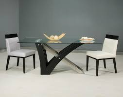 small rectangle glass dining table home interior design simple