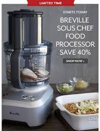 sur la table food processor sur la table breville best sellers up to 44 off milled