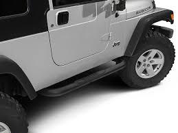 jeep wrangler side steps for sale redrock 4x4 wrangler 3 in side steps textured black j100544 04