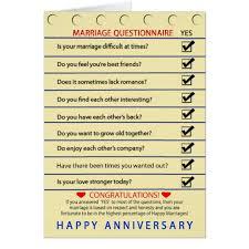 questionnaire mariage carte anniversaire questionnaire de mariage zazzle be