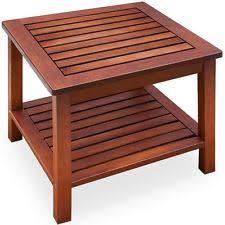 outdoor wood coffee table garden coffee table ebay