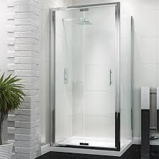 buy tecknik 900mm bifold shower door from bathshop321