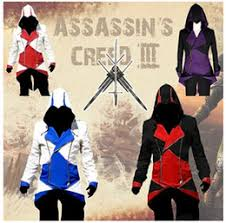 Connor Halloween Costume Discount Custom Assassins Creed Jacket 2017 Custom Assassins