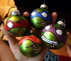 teenage mutant ninja turtle christmas ornaments by colacerise on