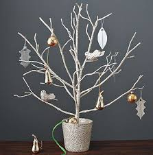 tree branch decor branches secure a bare tree branch in a container with soil