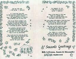 christmas greeting card poems christmas lights decoration