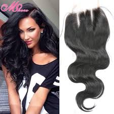 sew in with lace closure 7a indian wave closure unprocessed indian hair