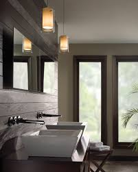 recessed lighting over bathroom vanity interiordesignew com