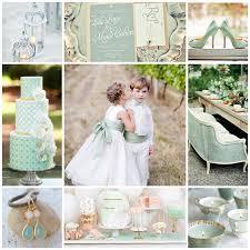 couleur mariage la couleur jade on y pense pour sa décoration de mariage