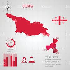 Georgia Usa Map by Republic Of Georgia Map Stock Vector Art 518485167 Istock
