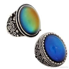 big stone rings images Fashion jewelry big mood stone rings real vantage silver plated jpg