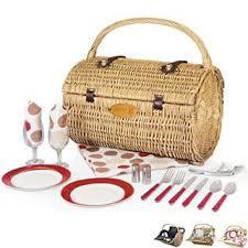 Picnic Basket Set Barrel Picnic Basket Set Fashion Colors Promotions Now