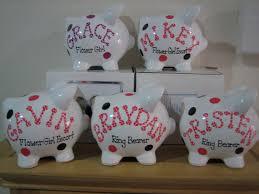 piggy bank party favors personalized disney minnie mickie mouse party favor piggy