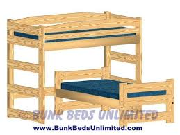 Best Bunk Bed Images On Pinterest Bed Ideas  Beds And - Wooden bunk bed plans