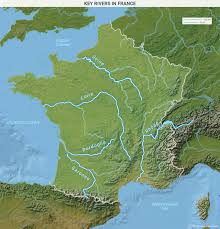 Map Of European Rivers by France As A Northern And Southern European Power Geopolitical