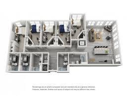 5 bedroom floor plan clemson cus housing floor plans of our clemson apartments