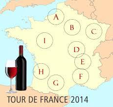 Tour De France Map by