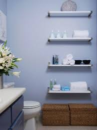 shelving ideas for small bathrooms 10 savvy apartment bathrooms hgtv