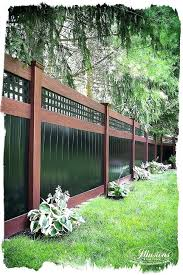 Landscaping Ideas For Backyard Privacy Landscaping Privacy Fence Best Landscaping Along Fence Ideas On