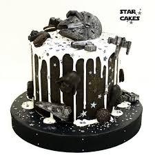 star wars drip cake archers 1st birthday pinterest drip