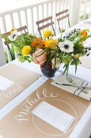 25 unique farmhouse placemats ideas on fall table