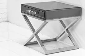 Mirrored Side Table Www Roomservicestore Com Boca Smoked Mirror Side Table