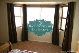 Curtains On Bay Window Bay Window Curtain Rod Uk Bay Window Curtain Rod Find The Best