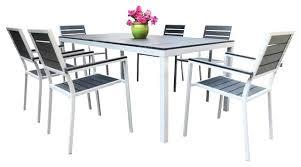 Aluminum Patio Dining Table Startling Aluminum Outdoor Dining Set Furniture Rch Furniture