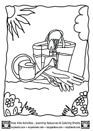 kids gardening tools coloring pages lucy garden coloring pages