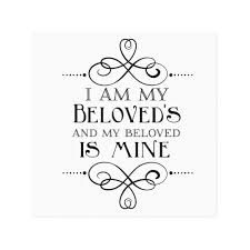 i am my beloved i am my beloved s and my beloved is mine canvas zazzle