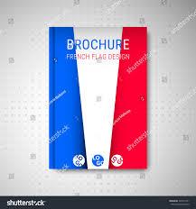 French Flag Banner Brochure Design French Flag Stock Vector 346371251 Shutterstock