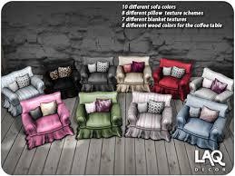 Different Sofas Second Life Marketplace Laq Decor Sofa Set 10 Color Pack