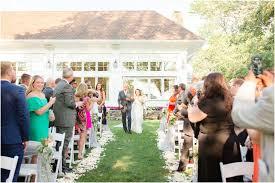 summer wedding at indian trail club nichole and robert