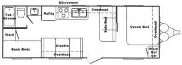 Springdale Rv Floor Plans This Item Has Been Sold Recreational Vehicles Travel Trailers