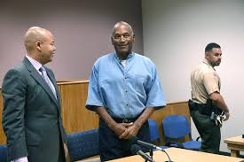 oj simpson could be released from prison as soon as monday cbs miami