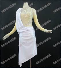 online get cheap latin ballroom dresses white aliexpress com