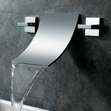 Waterfall Faucet Bathroom Wovier Oil Rubbed Bronze Waterfall Bathroom Sink Faucet Two