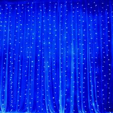 20ft x 10ft led lights organza backdrop curtain photobooth wedding