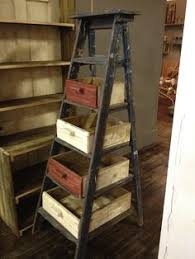 Wooden Ladder Bookshelf Plans by Old Ladders Google Search U2026 Pinteres U2026