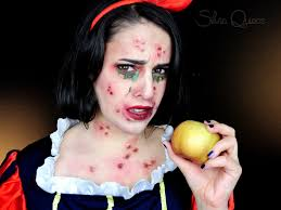 poisoned snow white special effects makeup tutorial silvia quirós