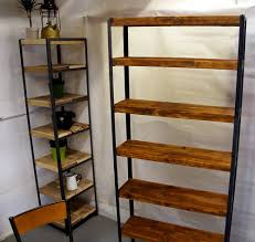 Industrial Style Furniture by Tall Vintage Industrial Shelves Vintage Industrial Furniture A